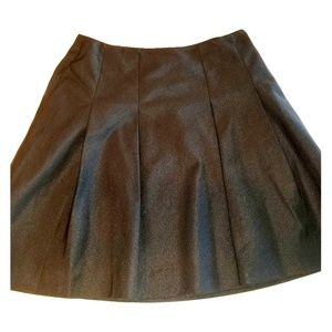 The Limited black A lined skirt